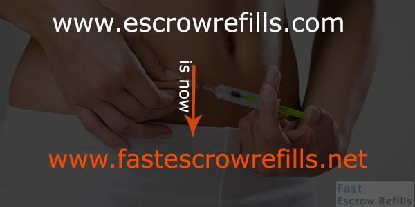 Escrow Refills New Site